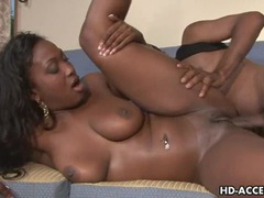 Mature ebony babe takes a pounding movies at lingerie-mania.com