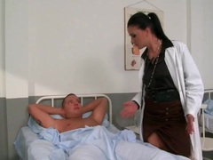 Doctor gives that patient a handjob and bj videos