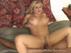 White milf with sexy fake tits does bbc fucking movies at kilosex.com