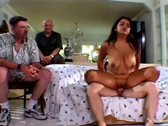 Watching his big titty wife have cheating sex movies at find-best-panties.com