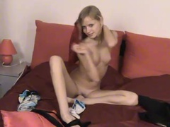 Petite solo teen is a cutie in her tease video movies at reflexxx.net