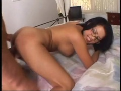 Good sex with a hot pornstar in glasses videos