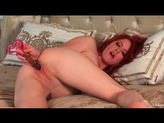 Hot redhead elle alexandra fucks a toy videos