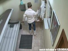 Blonde cutie public voyeur movies at sgirls.net