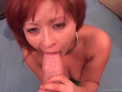Chubby redhead titjob and shaved vagina fuck videos