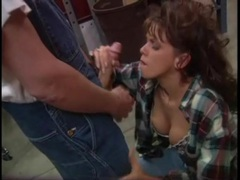 He fucks the slut in a plaid shirt from behind movies at lingerie-mania.com
