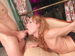Tranny wraps her hot lips around his hard dick movies at kilotop.com