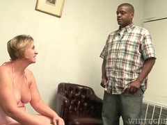 Black guy licks the armpits of a fat chick movies at find-best-mature.com