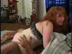Redhead mature in corset fucked by black cock videos