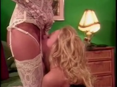 Lingerie on hot blonde taking strapon in cunt movies at find-best-babes.com