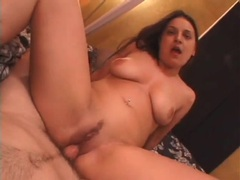 Amateur rubs her clitty and takes cock in her cunt videos