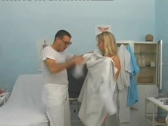 Dress and stockings on a blonde getting fucked videos