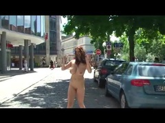 Big sexy tits on public nudity girl videos