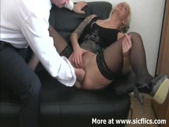 Fisting my bitch boss till she squirts movies at sgirls.net