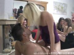 Amateur couples at czech swingers party videos