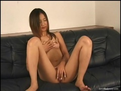 Soaking with asian vagina fucked by a toy tubes at chinese.sgirls.net