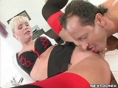 Office slut in sexy bra and stockings fucked movies at very-sexy.com