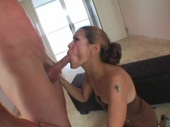 Long cock into the throat of the cute young lady movies at sgirls.net
