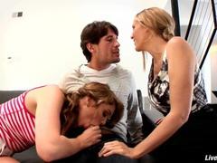 Livegonzo jessie andrews & julia ann sweet teen & milf threesome videos