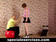Slave girl trained by coach videos