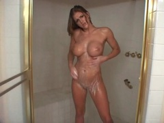 Eve laurence takes the sexiest shower ever movies at find-best-babes.com
