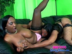 Chubby black lesbians like to eat the pussy movies at dailyadult.info
