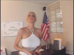 Throat fucking a hot blonde with big fake tits movies at find-best-panties.com