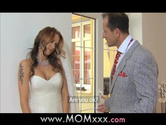 Mom wife to be get fucked at her wedding movies at sgirls.net