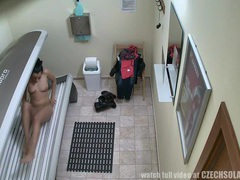 First hidden cam in public solarium worldwide videos