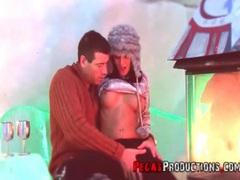 Sexy sweater girl sucks dick in an igloo movies at kilopics.net
