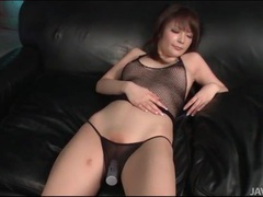 Shaved japanese slut moans during toy sex videos