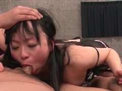 Face fucked asian takes loads on her tongue tubes at thai.sgirls.net