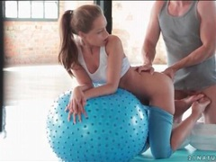Yoga babe sophie lynx fucked doggystyle videos