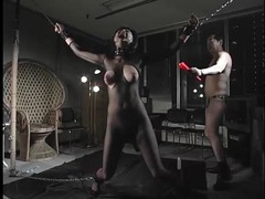 Japanese submissive whipped hard in bondage videos