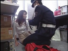 Security officer ties up japanese girl videos
