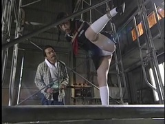 Schoolgirl bound in warehouse and made to suffer movies at find-best-babes.com