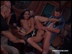Hot euro girls get fucked in a crowded bar movies at kilopics.net