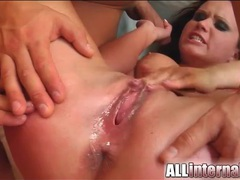Dirty girl in bikini and boots wants creampie movies at find-best-hardcore.com