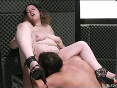 Bbw titjob and bj makes him hard movies at freekiloclips.com