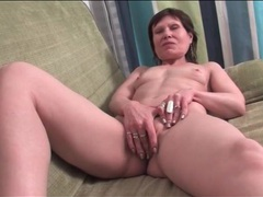 Skinny mature cleans house in her panties movies at adipics.com