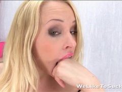Talented deepthroat blowjob from lola taylor movies at sgirls.net
