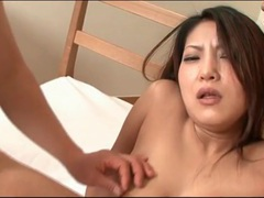 Pink japanese pussy close up is arousing movies at lingerie-mania.com