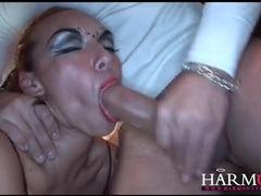 Flexible ballerina fucked in a kinky threesome movies at find-best-hardcore.com