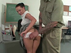 Schoolgirl katie st ives blows a janitor videos