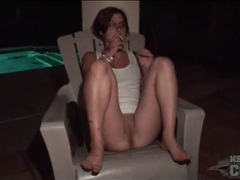 Party girl smokes with her hot pussy movies at kilopics.net