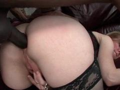 Nina hartley interracial anal sex from behind movies at sgirls.net
