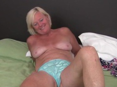 Cute freckled mature blonde masturbates movies at kilopics.net