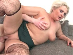 Chubby mature in stockings fucked hardcore videos