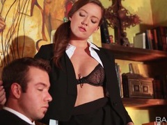 Secretary maddy oreilly seduces her boss movies at kilosex.com