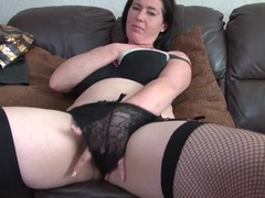 Solo mom strips from her slutty outfit videos